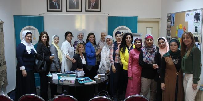 """دورة تدريبية تحت عنوان """"ميراث المرأة بين الشريعة والقانون والموروث الاجتماعي"""""""